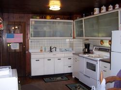 Kitchen inside retreat