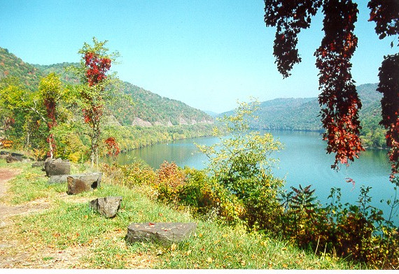 Nearby Bluestone Lake