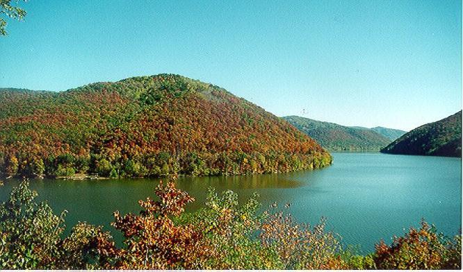 Nearby Bluestone Lake