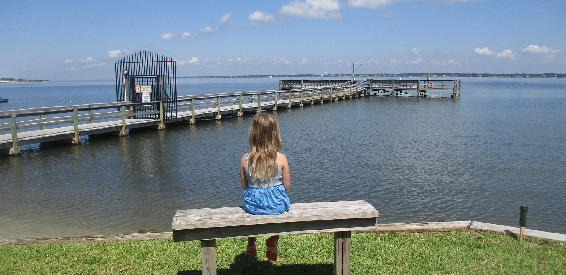 Onsite fishing pier