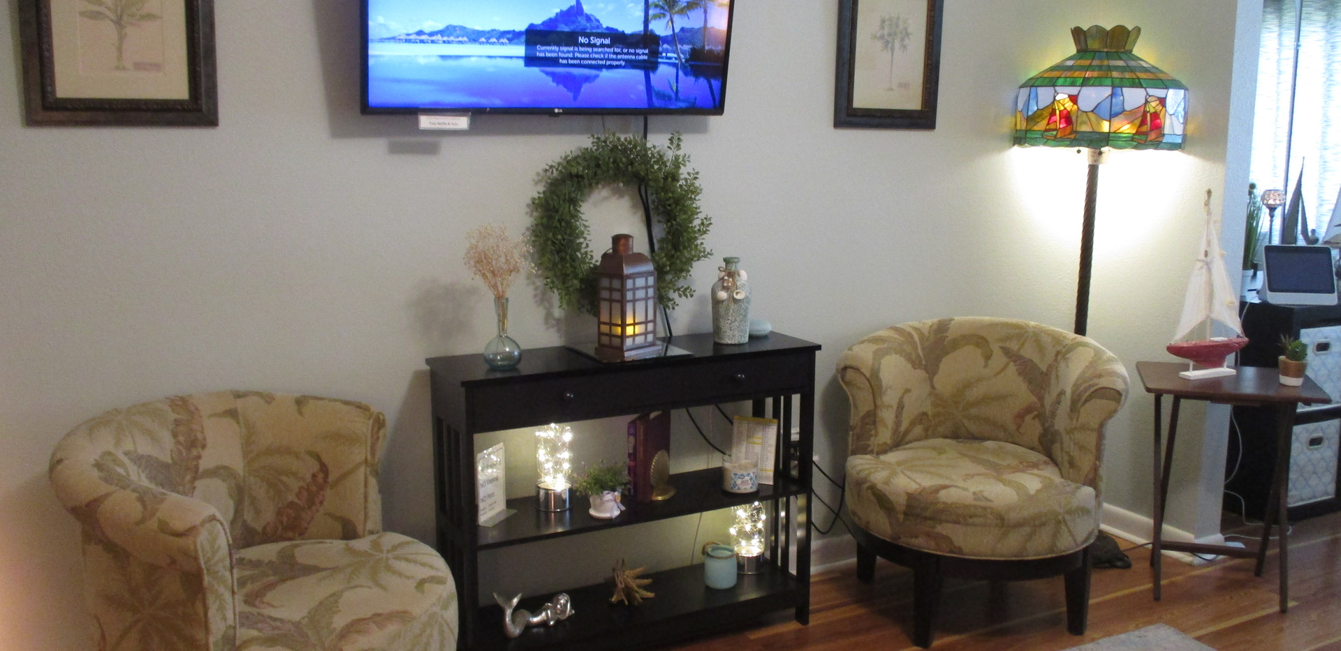 Cable TV beautiful decor