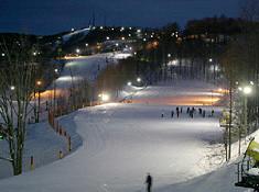 Near Winterplace ski resort