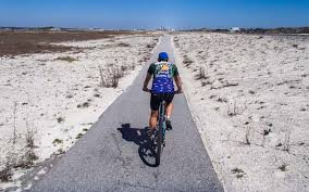 Ride the bike trail to Pensacola Beach!