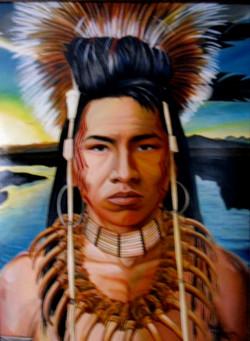 Ojibwe Warrior