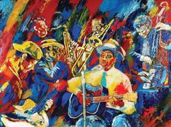 Blues-session