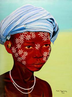 Sudaneze-Flowergirl