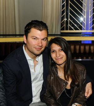 Dr. Kiefer with his fiancé, Steph.
