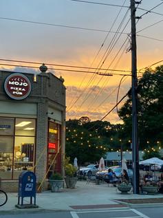 Oakhurst sunset