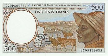 Tchad 500 francs CFA 2000 recto.jpg