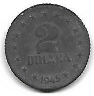2 dinar 1945 recto.jpg