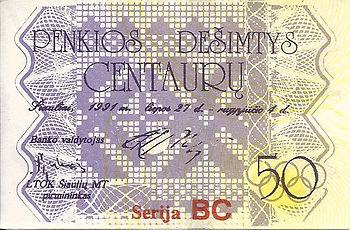 50 centaures 1991 verso.jpg