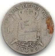 1 frank 1869 recto.jpg