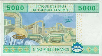 Gabon 5000 francs CFA 2002 verso.jpg