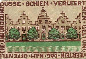 25 pfennig 1921 Friedrichstadt verso.jpg