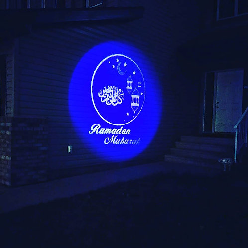 Ramadan and Eid LED Projector with 6 Patterns