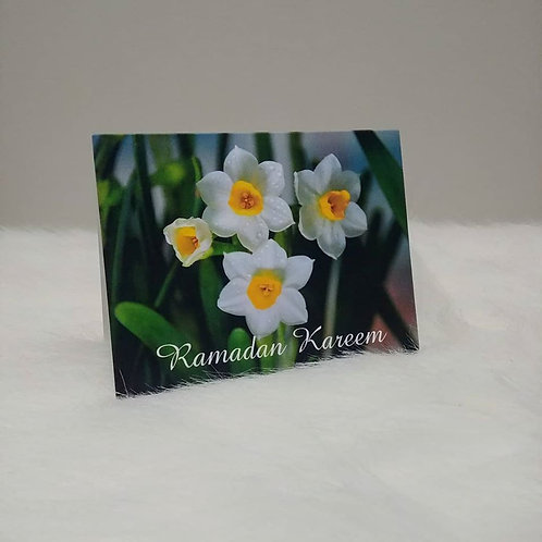 Ramadan Kareem Nargis Greeting Card