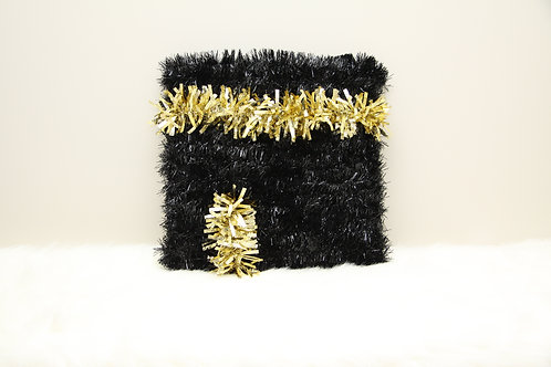 Black/Gold Square Kaaba Wreath