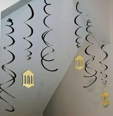 Ceiling Swirls