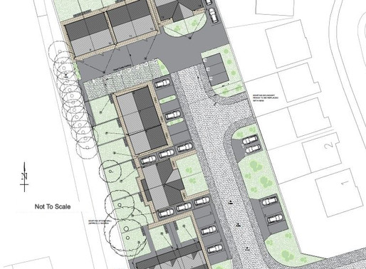 Outline planning permission granted for 14 New dwellings at former Windjammers nightclub site