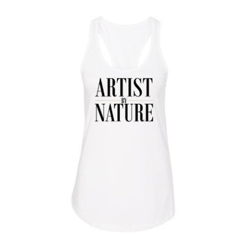 Artist by Nature Racerback Tank