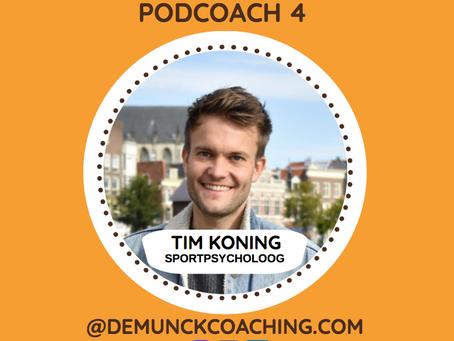 PODCOACH 4 met Sportpsycholoog Tim Koning