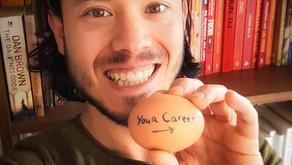 Vergelijk je carrière eens met een ei om je gouden kern te vinden!
