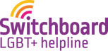 Switchboard LGBT+ helpline logo