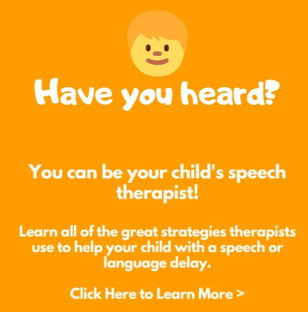 Parent coaching in speech therapy for toddlers with speech or language delay