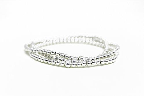 Maddie Orb Bracelets (Sterling Silver)