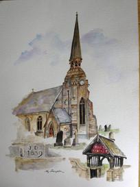 Christ Church - Great Lumley, Co Durham