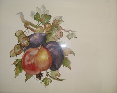FRUIT - CHARITY CARD NIKKI MACLEOD 2012.