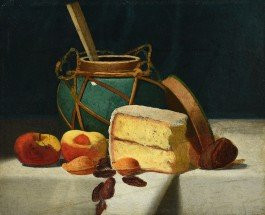 Still life painting by JF Peto