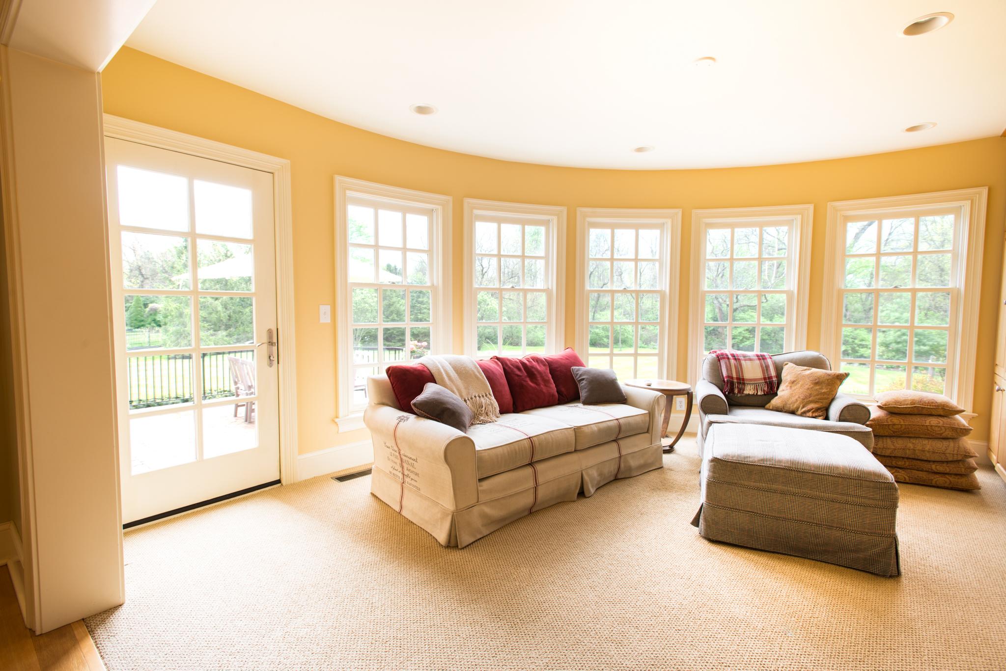 Sunny sitting room...