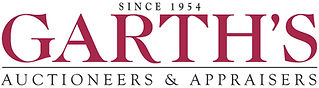 Garth's Auctioneers logo since 1954