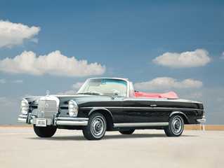 1964 MERCEDES CABRIOLET DRIVES GARTH'S GENTLEMAN'S AUCTION