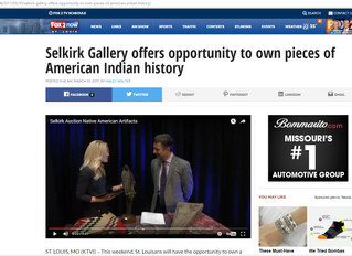 Selkirk Gallery offers opportunity to own pieces of American Indian history