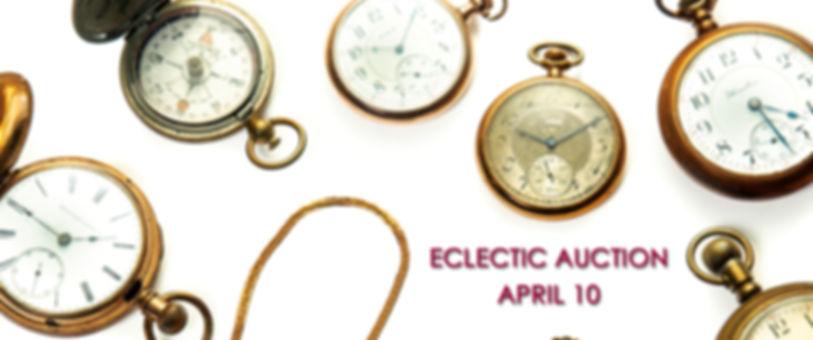 2020-4 ECLECTIC GARTHS Pocket WatchesSLI