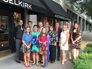 Selkirk Inaugural Auction and Renovation Reveal Attracts Hundreds to St. Louis's Central West End