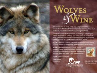 Selkirk hosting Wolves & Wine Fundraiser