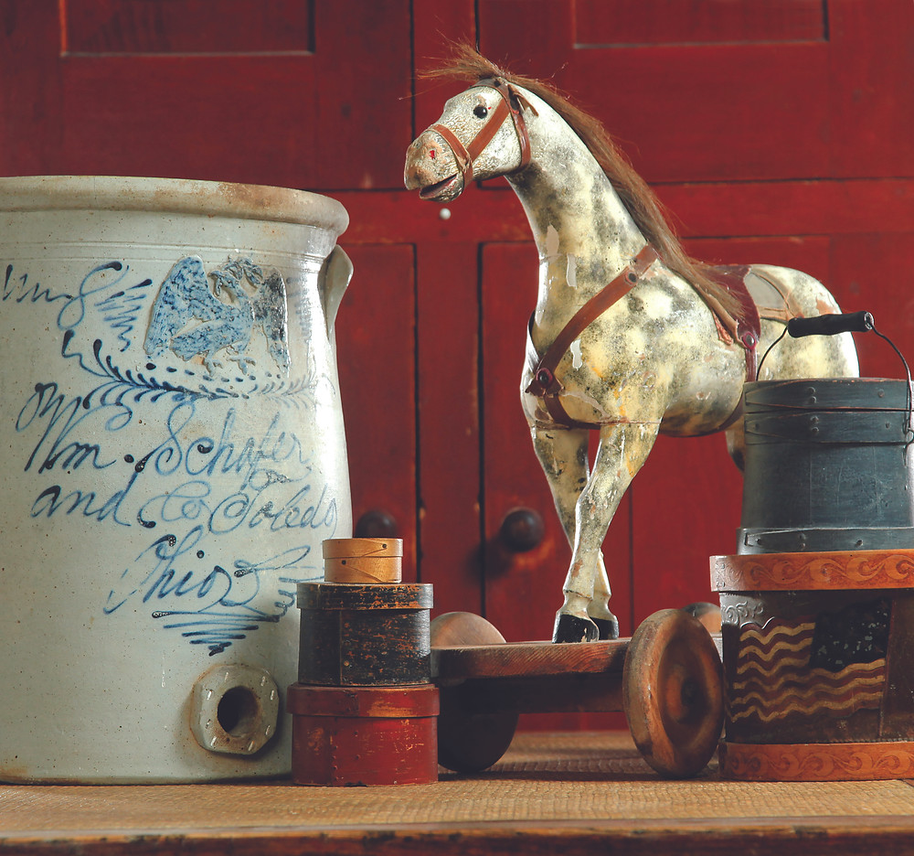 Items from the collection of Elinor Meugniot of Clive, Iowa.