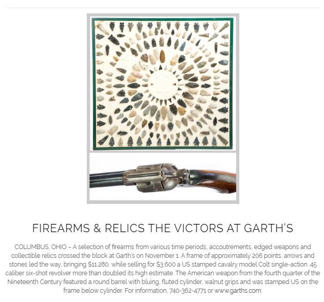Garth's Firearms Auction 11-2019