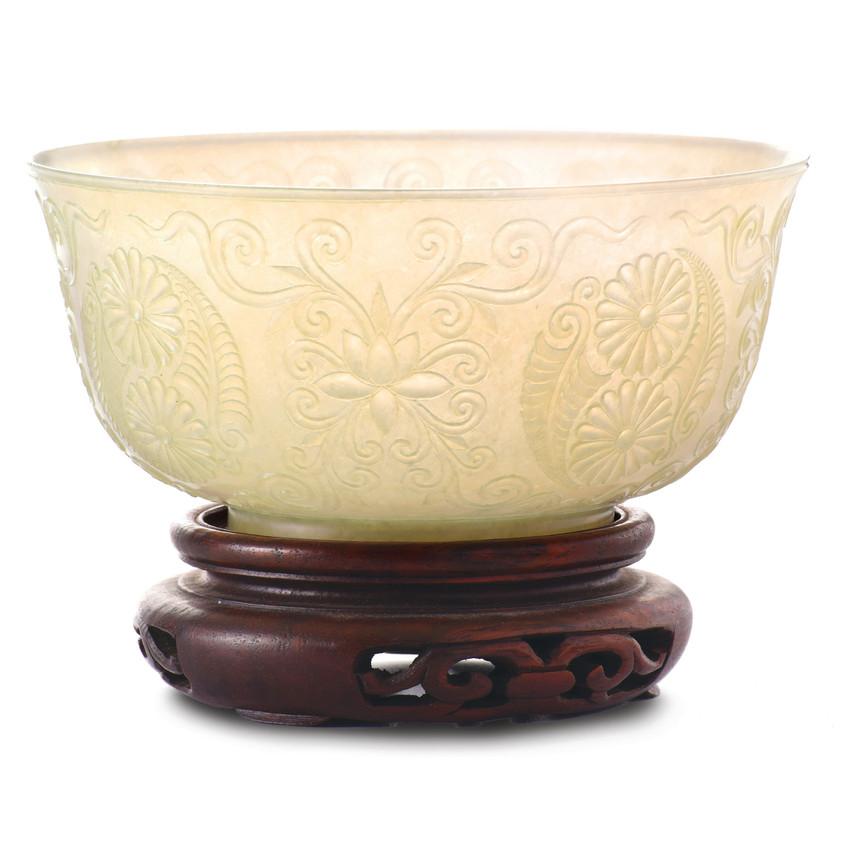 White Jade Bowl