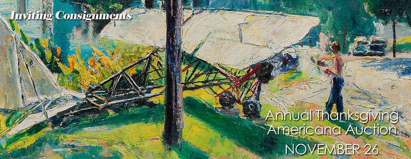 Inviting Americana Consignments for Garth's November 26, 2021 auction