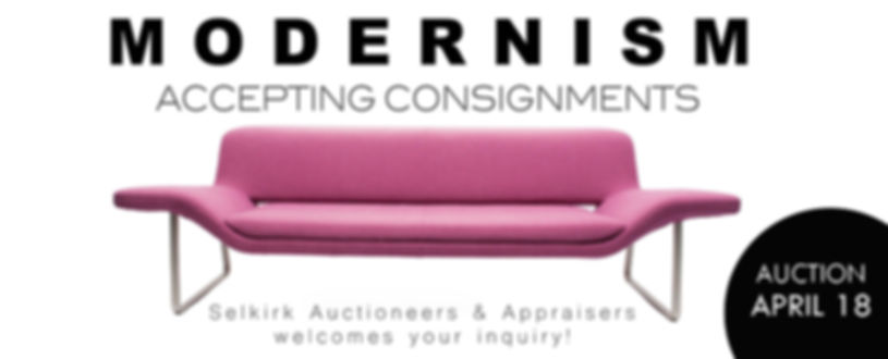 2020 Modernism Call for Consignments Sel