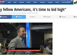 """""""My fellow Americans, it's time to bid high"""""""