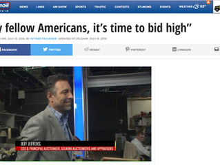 """My fellow Americans, it's time to bid high"""