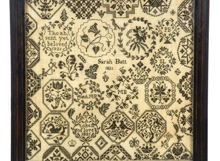 Fun & Folksy: Garth's Textile-Folk Art Sale