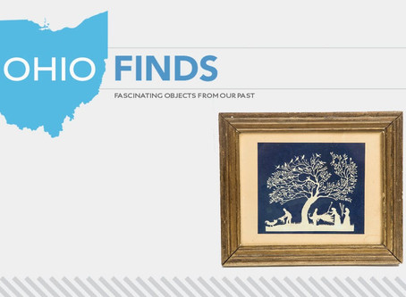 Ohio Finds! Seymour Lindsey Paper Cutout