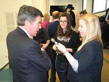 Mel & Becky interview minister