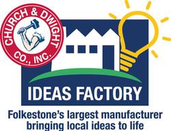 C&D Church Dwight Ideas Factory logo